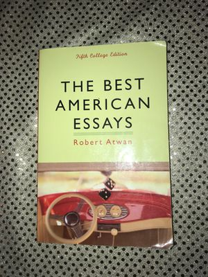 The best American essays 5th edition for Sale in Concord, CA