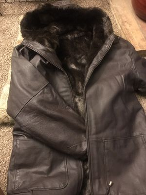 Reversible Leather Jacket for Sale in Fresno, CA