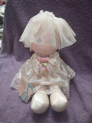 Precious moments musical bride doll for Sale in Lawrenceville, GA