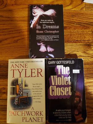 Books - In Dreams, The Violet Closet, A Patchwork Planet for Sale in Portland, OR