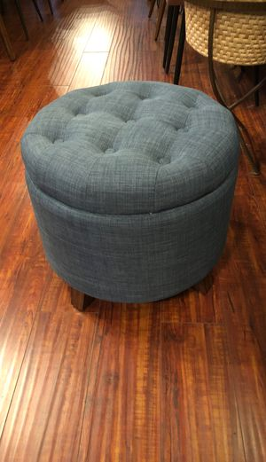 Ottoman with storage for Sale in San Jose, CA
