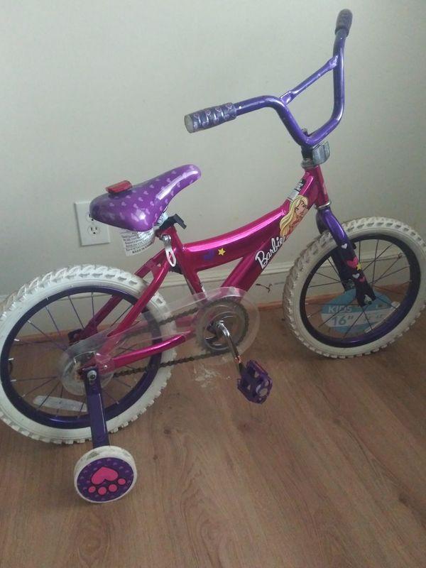 New Barbie bike
