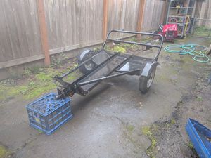 Atc trailer tuff n lite very rare tow it with your car or motorcycle for Sale in Portland, OR