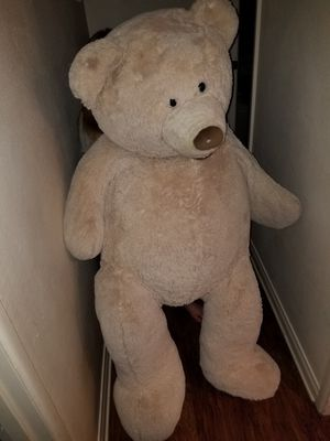 Little over 4ft bear huge, great for photo props for Sale in Lakeside, CA