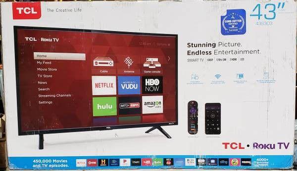 "TCL 43S303 43""Class 3-Series FHD LED Roku Smart TV"