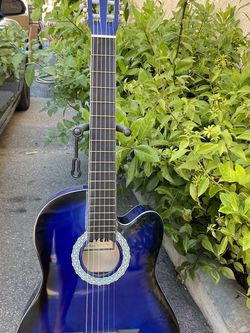 blue fever classic acoustic guitar for Sale in South Gate,  CA