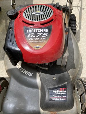 Craftsman Lawn Mower $110 for Sale in Lawrenceville, GA