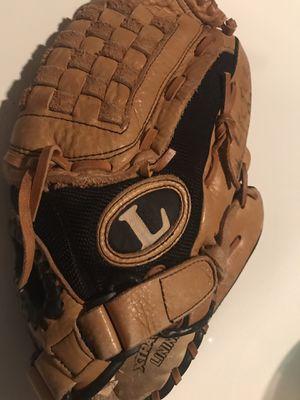 Two leftie baseball gloves 1 adult/1 kid for Sale in Sebring, FL
