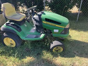 John Deere 155C 25 hp for parts mower deck also included needs pulley for Sale in French Camp, CA