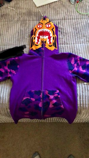 Bape tiger size m for Sale in Arvada, CO