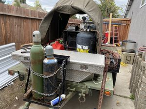 Welding trailer for Sale in Valley Home, CA