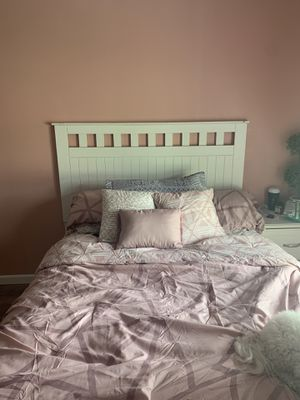 bed frame, nightstand, dresser for Sale in Wichita, KS