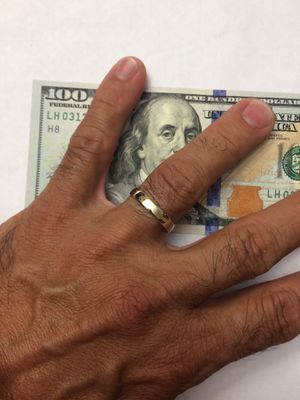 10K Solid Gold Wedding Ring size 11 for Sale in Hialeah, FL