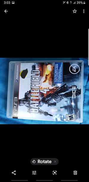 Playstation 3 Game Battlefield 4 Ps3 for Sale in El Cajon, CA