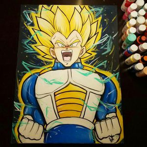 SSJ Vegeta! By Quil - Dragonball Z for Sale in Tracy, CA