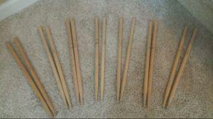 Standard wooden drum sticks. for Sale in Norcross, GA