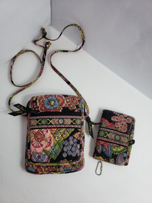 Vera Bradley set 2pcs Small crossbody with matching wallet PRICE FIRM 🚫 for Sale in San Antonio, TX