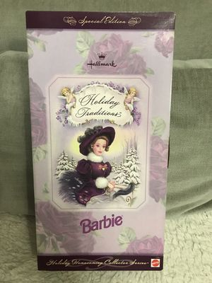 Holiday Traditions Barbie - never used! 😊 for Sale in Edgewater, NJ