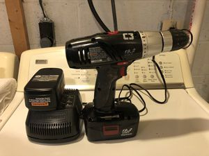 Craftsman Cordless Drill Driver W/two batteries and Charger for Sale in Glenn Dale, MD
