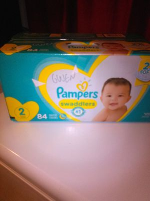 Baby pampers and wipes 196 count box for Sale in Pittsburgh, PA
