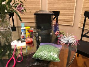 Beta Fish tank and everything you need for at lease a year for Sale in Laguna Hills, CA