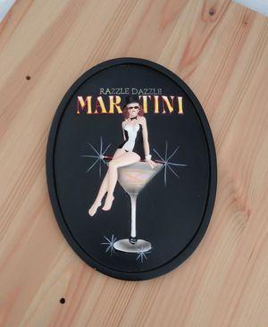 Razzel Dazzel Martini Wall Art for Sale in Tampa, FL