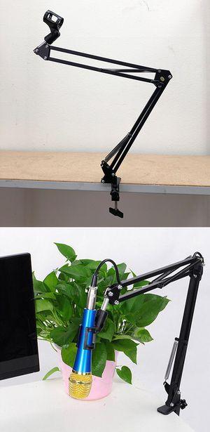 New $10 Mic Microphone Suspension Boom Scissor Studio Broadcast Stage Arm Stand Holder for Sale in Pico Rivera, CA
