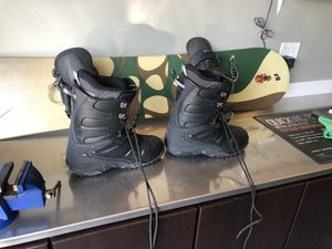 Snowboard and Boots for Sale in Hayward, CA