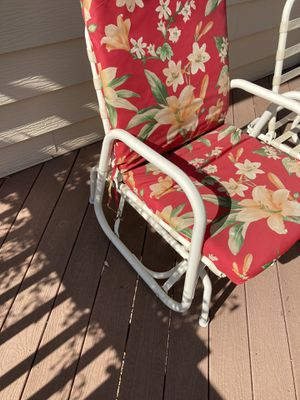 One glider chair and one that needs to be fixed or for parts for Sale in Arvada, CO