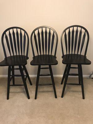 Bar Stools(set of 3) for Sale in Arlington, VA