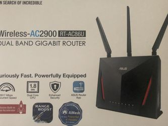 ASUS AC2900 Router (RT-AC86U) Like New for Sale in Bellflower,  CA