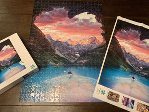 "Buffalo Games 500 piece ""follow your heart"" puzzle for Sale in Tacoma, WA"