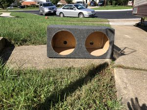 12in subwoofer box for Sale in Rockville, MD