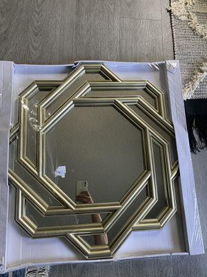 Geometric Decorative Mirror for Sale in Rancho Cucamonga, CA