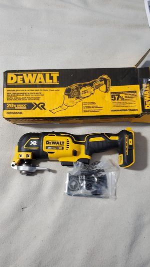 Dewalt 20V Max XR Brushless Oscillating Multi Tool. Tool Only. New In box. Price is firm for Sale in Avon, IN
