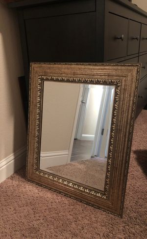 Gold wall mirror for Sale in Fresno, CA