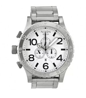New Nixon Authentic Watch 51-30 Silver/ White for Sale in Ashburn, VA