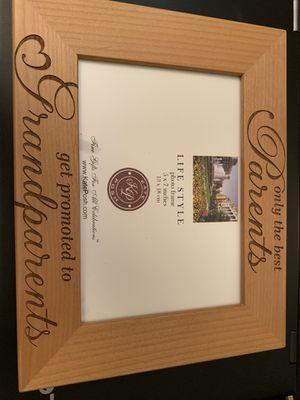 Grandparent picture frame for Sale in Alexandria, VA