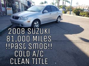 2008 Suzuki Forenza (Low Miles) for Sale in Lemon Grove, CA