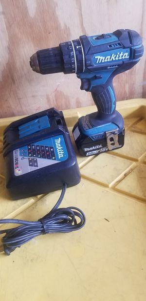 Makita 18v drill for Sale in San Jose, CA