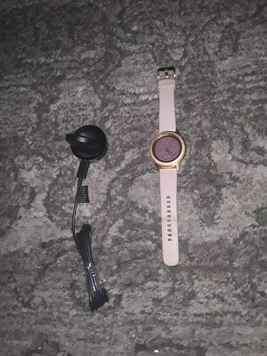 Smart Phone Samsung Galaxy Watch Can Receive In And Out Calls.Mint Codition Like New $120 for Sale in Sacramento, CA