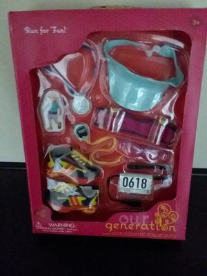 New Doll Accessory Set for OUR GENERATION Doll for Sale in Fontana, CA