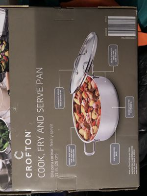 Crofton cook fry serve pan 11 '' for Sale in Elk Grove Village, IL