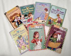 7 Junie B. Jones Books. Barbara Park. AR Books. Children's Books. Chapter Books. for Sale in Riverside, CA
