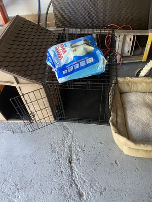 Dog house/ You love ❤️ me Folding Dog cage/ Dog bed for Sale in Lansing, IL