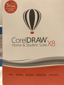 Corel Draw Graphic Suite Home And Student X8 for Sale in Boston,  MA