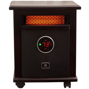 LOGAN DELUXE 1,500-WATT INFRARED QUARTZ PORTABLE HEATER WITH BUILT-IN THERMOSTAT AND OVER HEAT SENSOR for Sale in Houston, TX