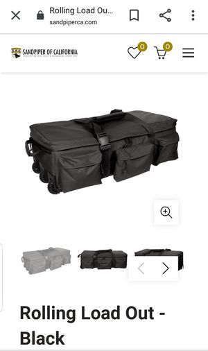 Duffle Bag Wheeled Black SOC for Sale in Fort Lauderdale, FL