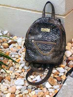 Bebe mini back pack alligator skin. New for Sale in Tampa, FL