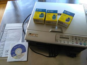 Brother all in one color printer scanner with inks for Sale in San Francisco, CA